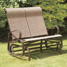 Havana Twin Seat Glider, in Bronze