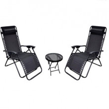 Suntime Gravity Two Seater Relaxer Bistro Set