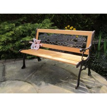 Children's Resin Back Bench
