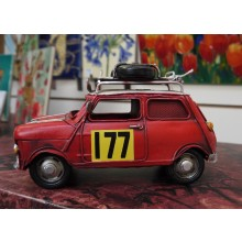 Red vintage Mini Car Ornament