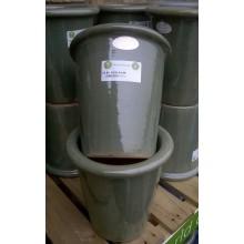 Yorkshire Flowerpots Mini Perak Planter - Pastel Green