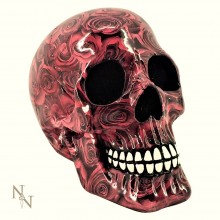 'Romance'  Rose Pattern Skull