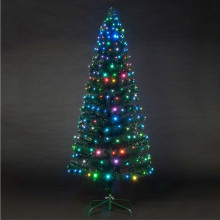 Snowbright Tree with Colour Change LED Lights 120cm