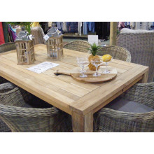 Lifestyle Jambi Six Seater Teak Table Set
