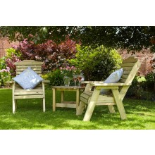 22% Outdoor Tom Chambers Masham Companion Seat With Table