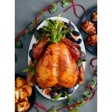 Local Barn Reared White Turkey (2 x Sizes) From
