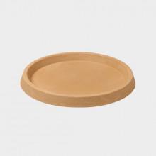 Stewart Varese Decorative saucer - Sandstone (34cm )