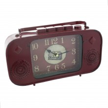 Widdop Metal Clock (Vintage Radio design)