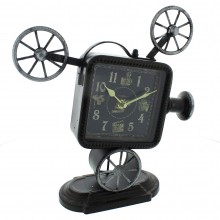 Widdop Metal Clock (Vintage Projector Design)