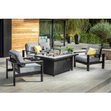 Hartman Atlas 2 Seat Lounge with Gas Fire Pit