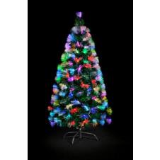 Fibre Optic Colour Burst Tree - 150cm