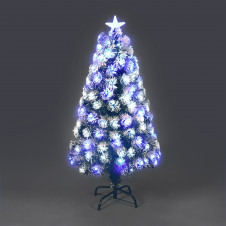 Fibre Optic Siberian Tree - 90cm