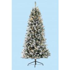 Slim Snowy Pine Cone Tree (Pre Lit) 6.5ft