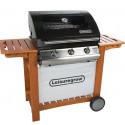 Leisuregrow 300 Series 3 Burner Roaster Gas Barbecue