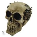 """""""Clockwork Cranium"""" skull"""