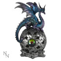 """Eye of Xanthor"" Light up Orb with Dragon"