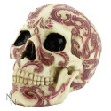 Oriental style Skull with Red details