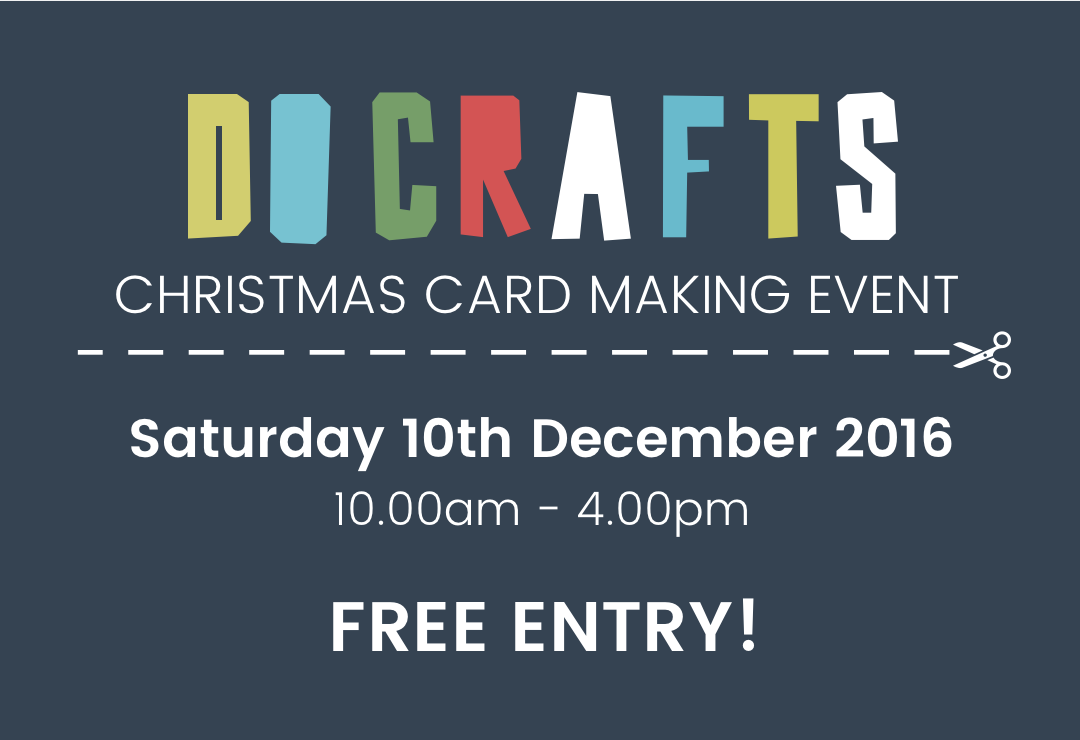Christmas card making event - Sat 10th December 2016