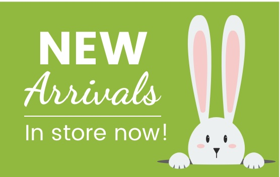 New arrivals in store now!