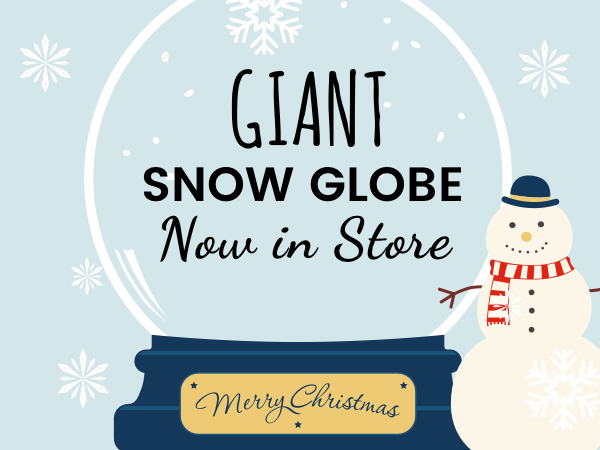 The Bradley Fold Giant Snow Globe
