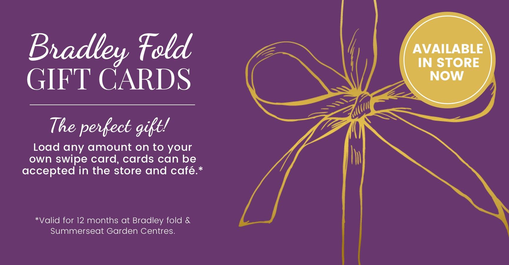 Bradley Fold Gift Card