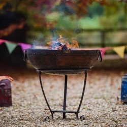 A grill that beats off the chill