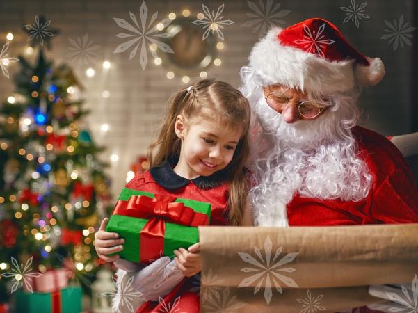 Santa Paying Us A Visit