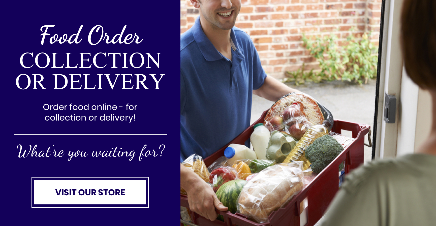 Food Order, Collection or Delivery