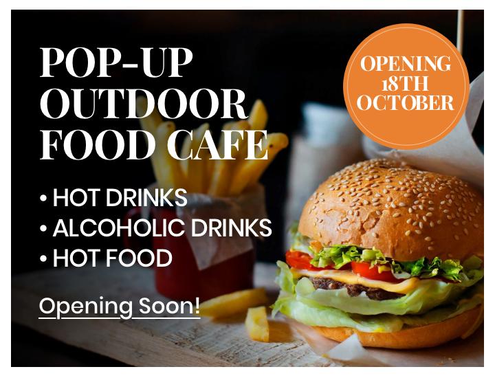 Pop-up Outdoor Food Cafe