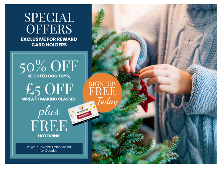 Special Offers for Reward card holders
